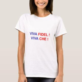 Camiseta ¡Viva Fidel! ¡Viva Che!