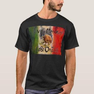 Camiseta viva mexico cabrones