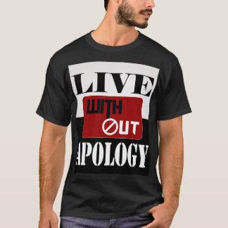 Camiseta Viva sin disculpa