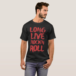 Camiseta Vive de largo el rock-and-roll