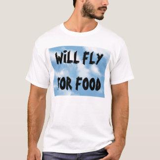 Camiseta Volará para la comida