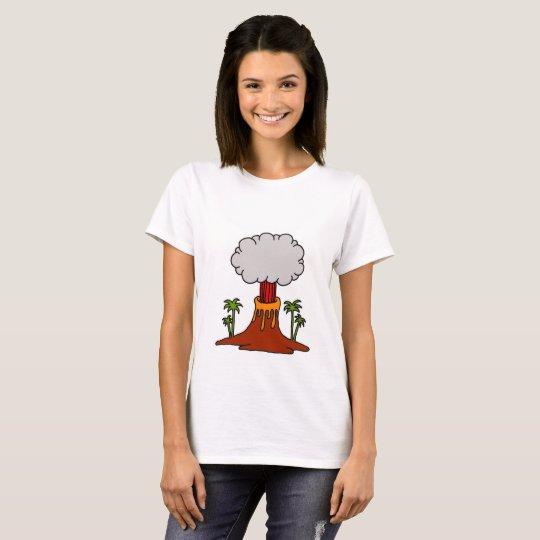 Camiseta Volcano girl