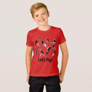 Camiseta ¡Volemos! - Diversión de la vespa del truco
