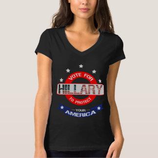 Camiseta Vote for Hillary