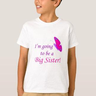 Camiseta ¡Voy a ser una hermana grande!