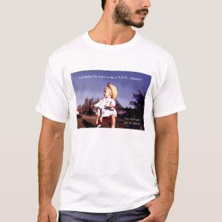 Camiseta Voy algún día a ser un cowgirl. REAL