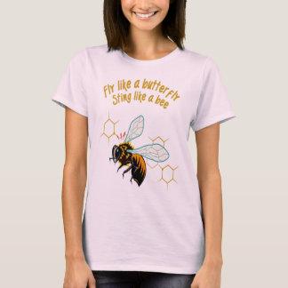 Camiseta Vuele como una picadura de la mariposa como una