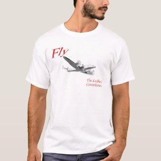 Camiseta Vuele la constelación de Lockheed