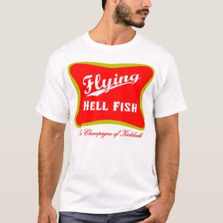 Camiseta Vuelo Hellfish Champán - rojo con el texto trasero