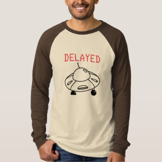 Camiseta Vuelo retrasado por el UFO