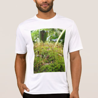 Camiseta waipio cubierto de musgo