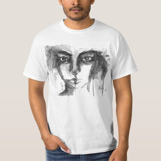 Camiseta Watercolor Look