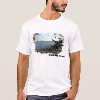 Camiseta Waterscape de la isla de Whidbey
