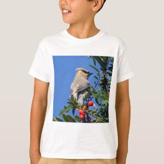 Camiseta Waxwing de cedro