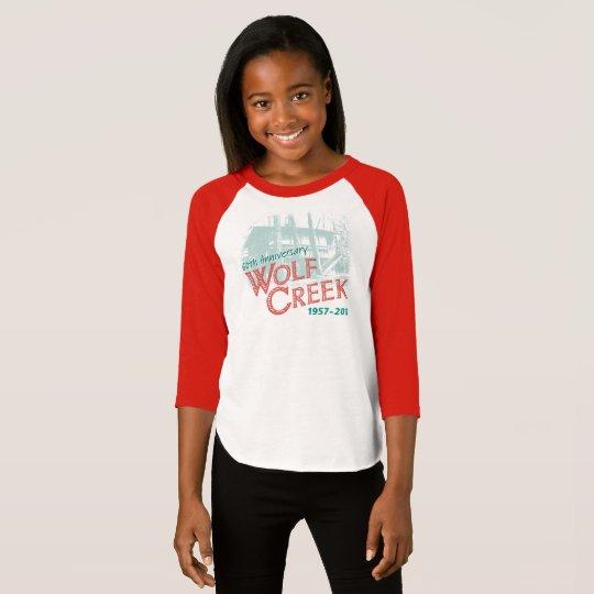 Camiseta WC60th Design1 - Raglán T de AmerApparel de los