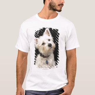 Camiseta Westie (terrier del oeste de la montaña) con el
