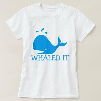 Camiseta Whaled él