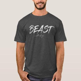 Camiseta _WHT de BEAST_MENS