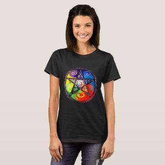 Camiseta Wiccan cinco elementos