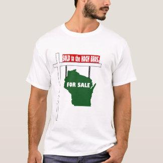 Camiseta Wisconsin vendió a los hermanos de Koch