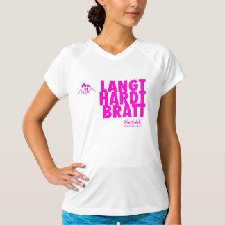 Camiseta WMNS esta manera al banquete - corra duro lejano