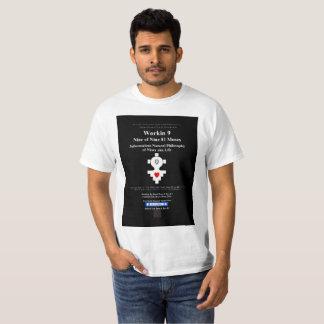 Camiseta Workin 9 nueve de nueve 81 musas