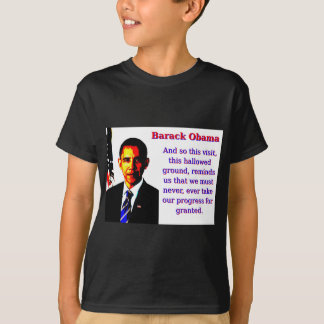 Camiseta Y tan esta visita - Barack Obama