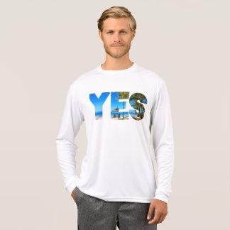 Camiseta Yes to Holidays