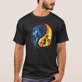 "Camiseta Yin Yang - hombre del IP de Chun ""KungFu"" del ala"