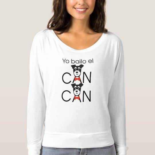 Camiseta Yo bailo el CAN CAN