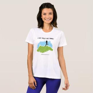 Camiseta ¡Yo como las colinas como el caramelo!  [Hembra]