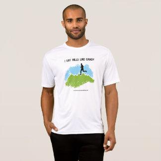 Camiseta ¡Yo como las colinas como el caramelo!  [Varón]