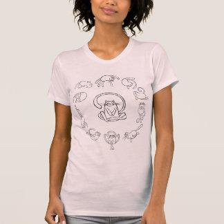Camiseta Yoga-gato