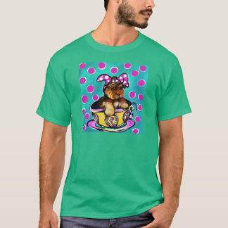 Camiseta Yorkie Poo Pascua