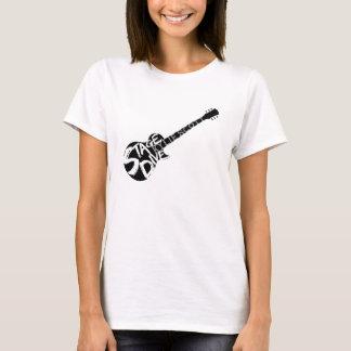 Camiseta Zambullida de la etapa - Kylie Scott - guitarra
