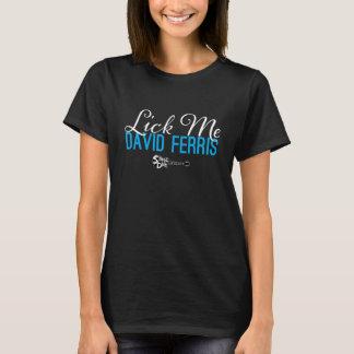 Camiseta Zambullida de la etapa - lámame azul en negro