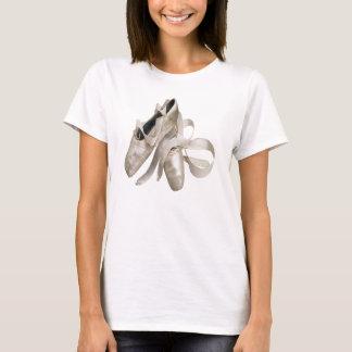 Camiseta Zapatos de la bailarina