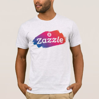 Camiseta Zazzle - colorido