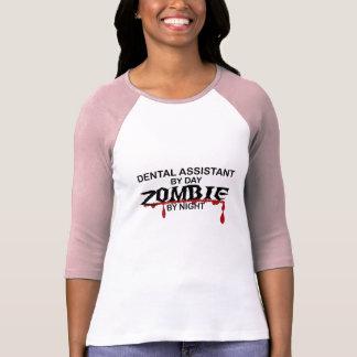 Camiseta Zombi del ayudante de dentista