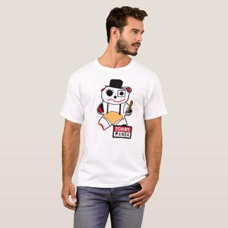 Camiseta Zombie Panda Naranja Mecánica