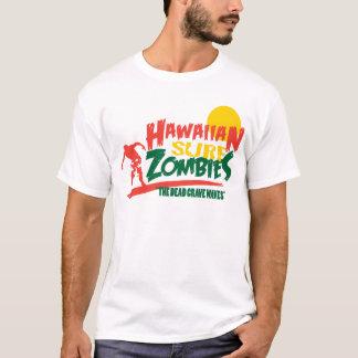 Camiseta Zombis hawaianos Rasta de la resaca