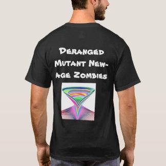 Camiseta Zombis locos de la Nuevo-Edad del mutante