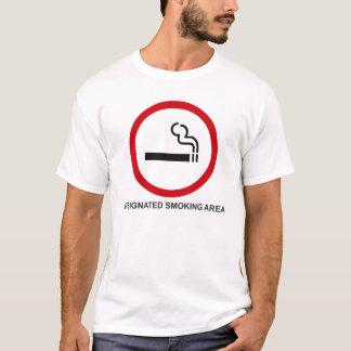 Camiseta Zona de fumadores señalada
