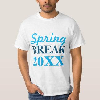 Camisetas adaptable de las vacaciones de primavera