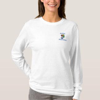 Camisetas adaptables bordadas de la conciencia del