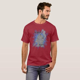 Camisetas adulto del alboroto 7 del robot