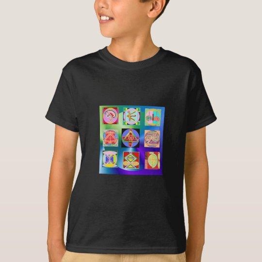 Camisetas básicas de la camiseta de Hanes Tagless