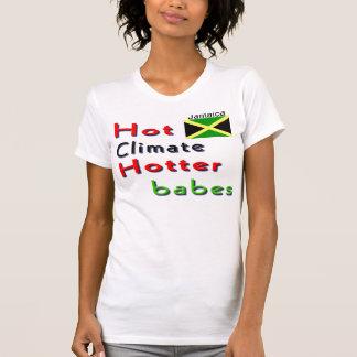 camisetas calientes de los chicas de Jamaica