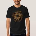 Camisetas célticas de Knotwork de los gatos de
