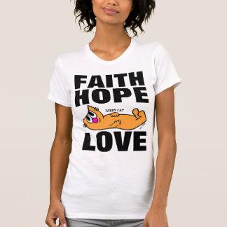 Camisetas CRISTIANAS del CAT, AMOR de la ESPERANZA